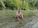 Entspanntes Tourende am Fluss...